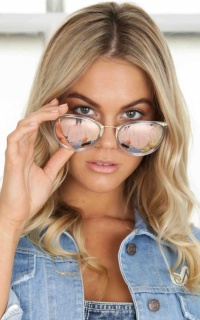 South East Sunglasses in clear