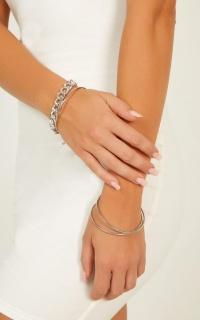 Dream Again Bracelet Set In Silver