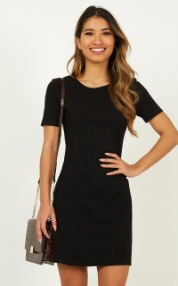 Face Value Dress In Black