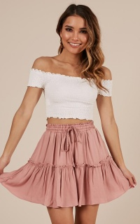 Final Promise skirt in blush