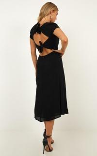 Girl Of The Night Dress In Black