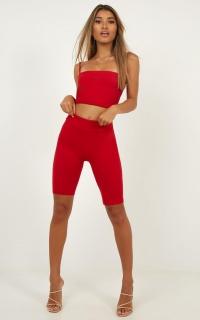 Kiki Shorts In Red