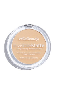 MCoBeauty - Invisible Matte Pressed Powder In Natural Beige