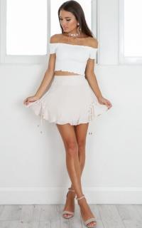 Radiant Skirt in blush