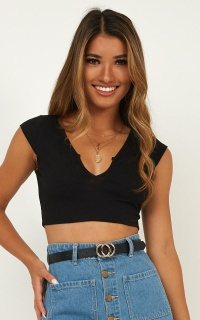 Nova Top In Black