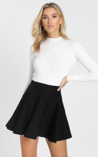 Real Deal Skirt In Black