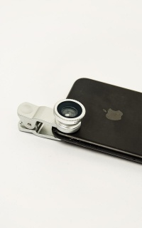 SmartLens 2.0 - Clip On Phone Lens Set Of 3 In Silver