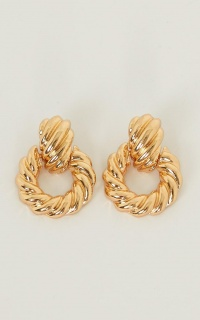 Take Me Dancing Earrings In Gold