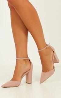 Verali - Arlette Heels In Blush Micro
