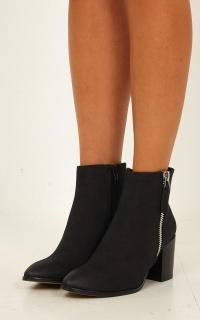 Verali - Cygo Boots In Black Nubuck