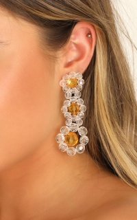 What You Need Earrings In Yellow