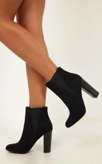 Verali - Adon Boots In Black Micro