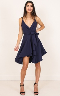 Why You Call dress in navy