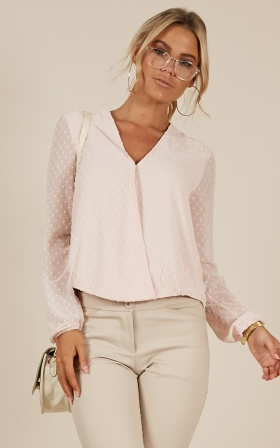 Grown Woman Top in blush