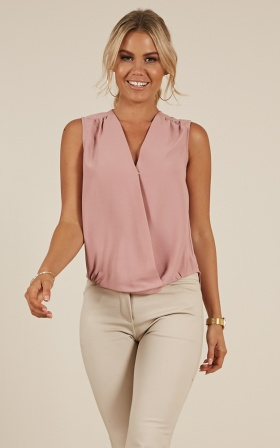Long Ride Home Top In Rose