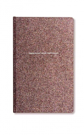 Alice Pleasance - Curiouser notebook in glitter