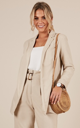 Girls Got Talent Blazer In Beige