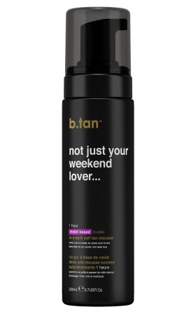 B.tan - Not Just Your Weekend Lover Self Tan Mousse 200ml