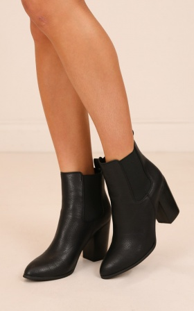 Billini - Jaida Boots In Black