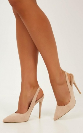 Billini - Renya Heels In Blush Micro