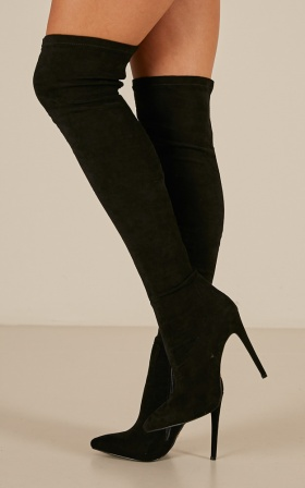 Billini - Romi boots in black micro