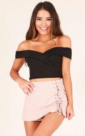 Catwalk Top in Black