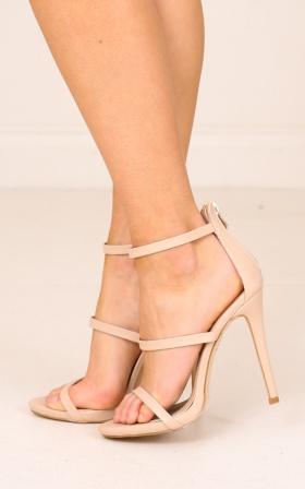 Billini - Delta heels in nude