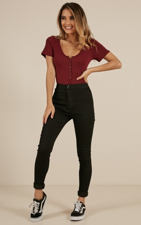 Madeline jeans in black