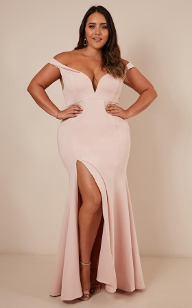 Modern Day Magic Maxi Dress In Blush