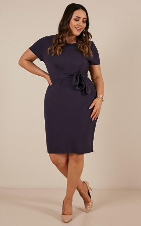 Night Owl Dress In Navy
