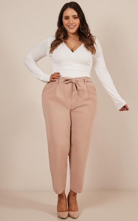 Rapid Fire Pants in Camel