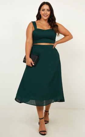 Primrose Two PIece Set In Emerald