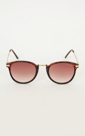 MinkPink - Reality Bites Sunglasses In Tort