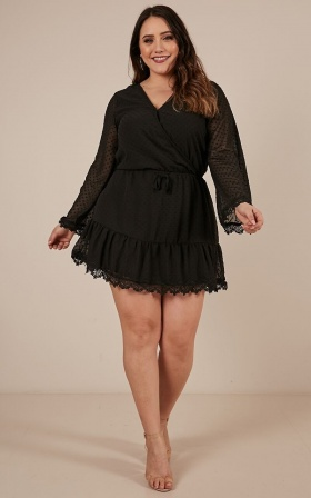 Double Locket Dress In Black