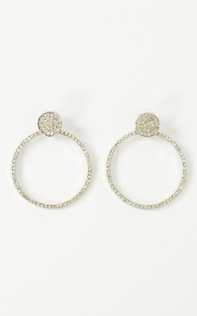 Cant Help Loving Earrings In Silver