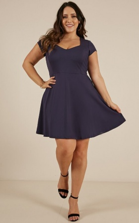 Shes Got It dress in navy
