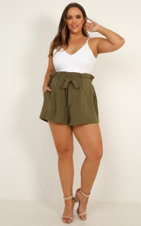 All Rounder Shorts In Khaki