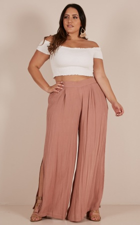Bewitched Pants In Mocha