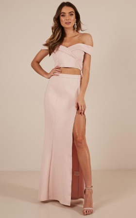 The Best Around Two Piece Set In Blush