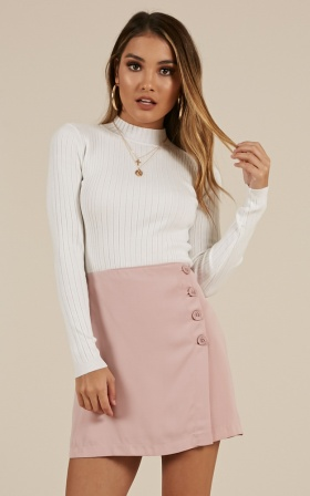 Shes All that Skirt in Blush