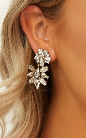 Shes Unreal Earrings In Silver