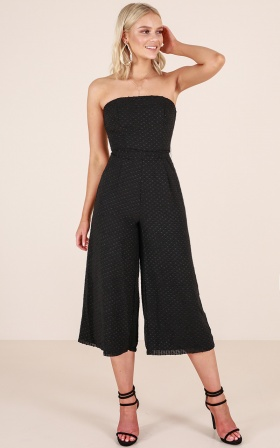 Summerday Jumpsuit in Black
