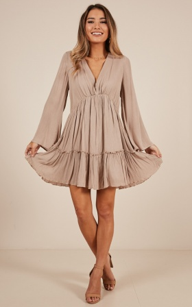 The Original Babe Dress In Mocha