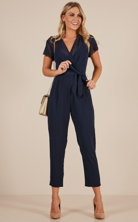 No Limits jumpsuit in navy