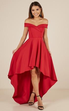 Red Dresses for Weddings