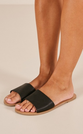 Billini - Crete Slides In Black