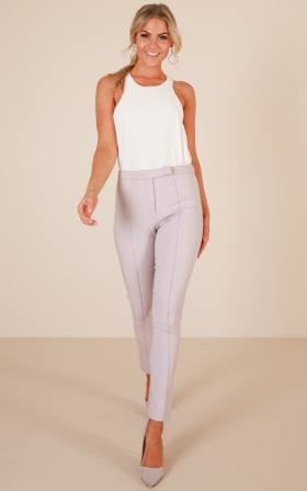 Hierarchy Pants In Grey