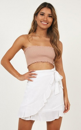 All The Lovers Skirt In White