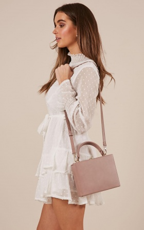 Live Stream bag in blush