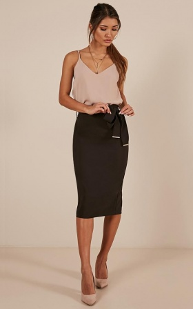 Bet On It Skirt In Black